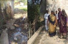The people of village Chillah are troubled because Drain has not been made for many years
