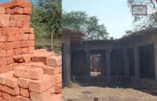 खलिहान के जमीन में बन रहा सचिवालय, ग्रामीणों ने किया विरोध