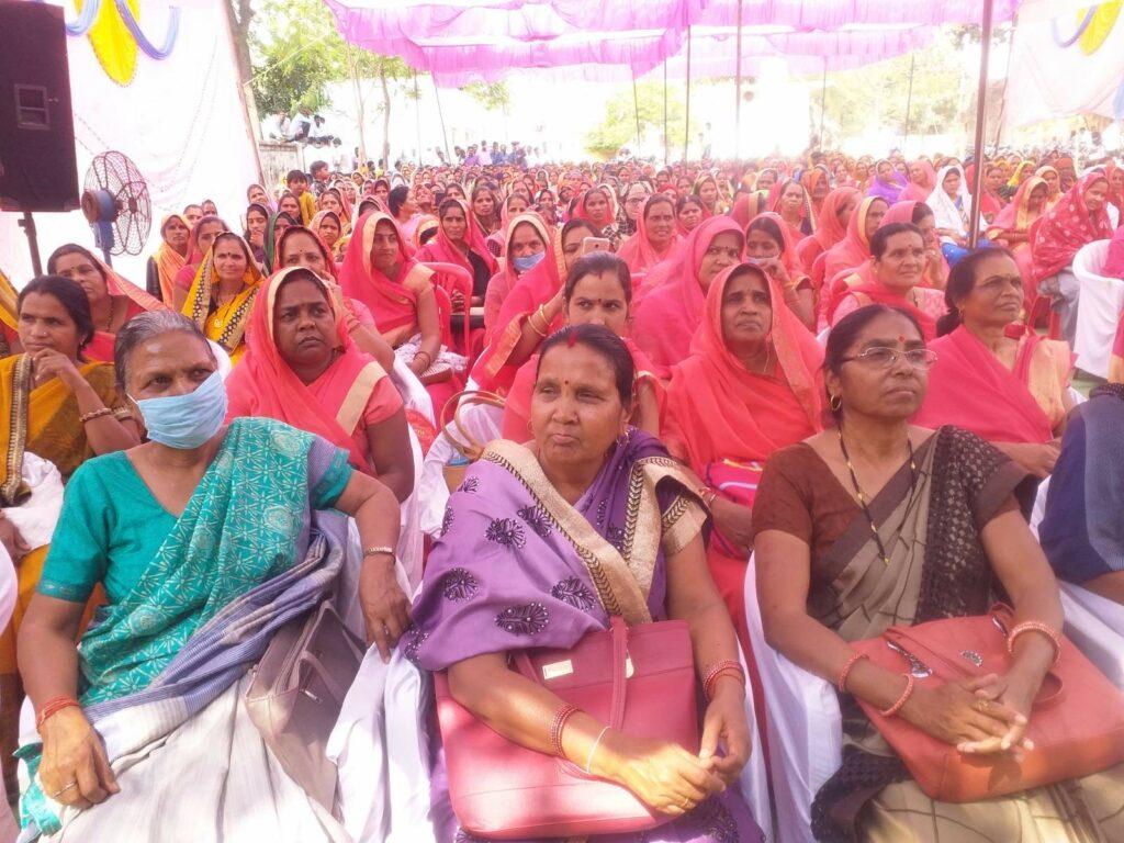 Women got information about schemes in maternal empowerment fair