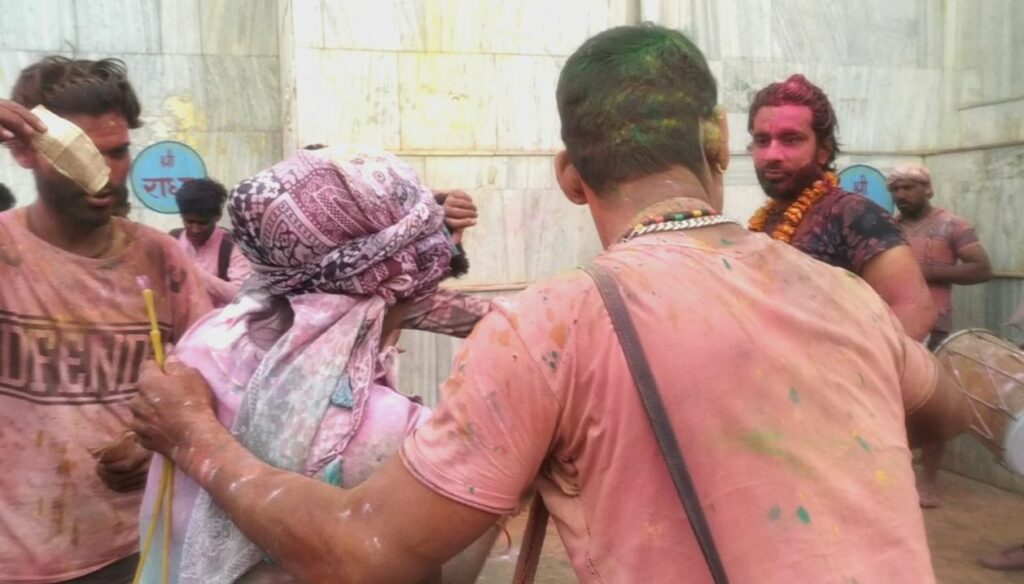 sexual manhandled in shadow of holi celebration