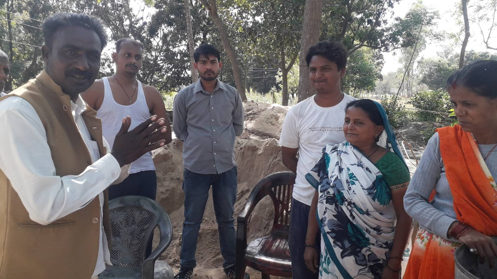 in ayodhya Candidates got ready for Panchayat elections