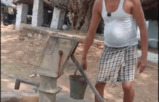 in mahoba roadside tap was damaged for 7 months