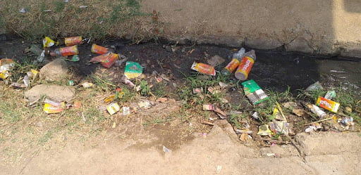 DIRTY PIT OF CHITRAKOOT VILLAGE