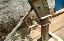 LIVE वाराणसी: बिगड़े पडे पांच हैंडपंप पानी- पीने के लेकर भटक रहे लोग