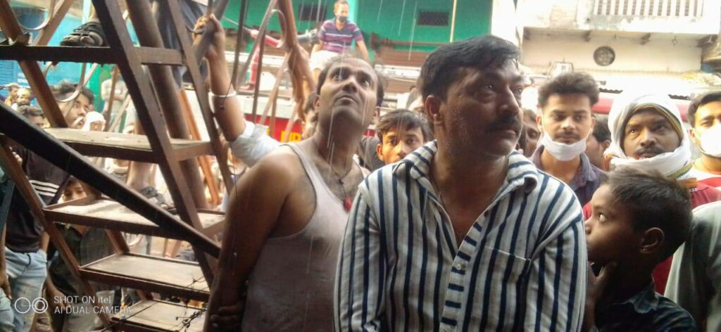 A case of fire again surfaced in Bundelkhand