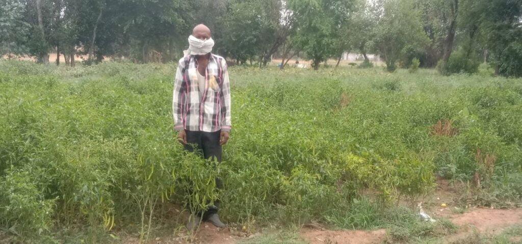farmer image by khabar lahariya