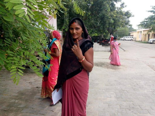 चुनाव फोटो, खबर लहरिया